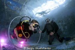 Children Diving by Sergiy Glushchenko