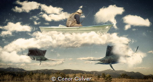 """""""Old Man and the Sea"""" part of my Underwater Surrealism bo... by Conor Culver"""