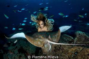 Mythical woman by Plamena Mileva