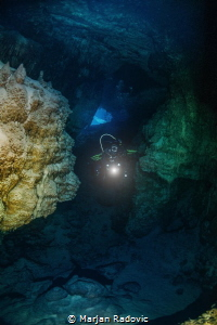 CAVE DIVING by Marjan Radovic