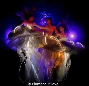 The Three Graces by Plamena Mileva