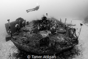 coastguard wreck from Kemer by Taner Atilgan