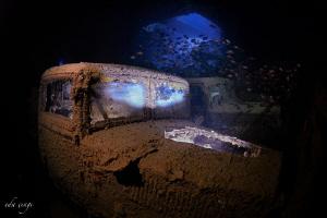 thistlegorm shipwreck by Eda Çıngı