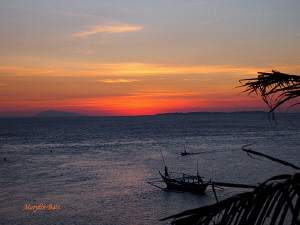 Anilao Sunset by Marylin Batt