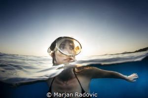 FREEDIVER TAMARA by Marjan Radovic