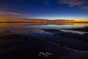 Early morning view over the Oosterschelde, time to dive! ... by Filip Staes