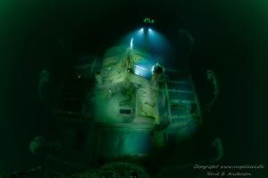 Helga Ferdinand WW2 wreck in Norway. It is taken from th... by Rene B. Andersen