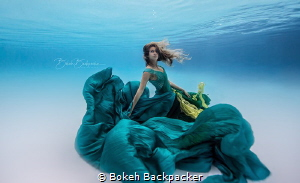 The model is a free diver who goes by the name @SaltSiren... by Bokeh Backpacker