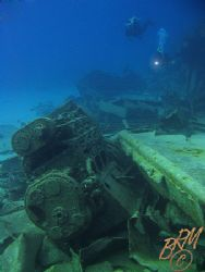 """The """"Oro Verde"""" wreck, Grand Cayman. It's well and truly ... by Brian Mayes"""