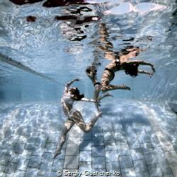 Pool-winter... by Sergiy Glushchenko