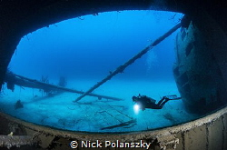 The infamous cargo-ship-turned-drug-smuggler, the Hilma H... by Nick Polanszky