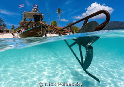 the Longtail boats of Thailand by Nick Polanszky