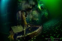 Oldenburg WW2 wreck, but was a german Raider ship in WW1 ... by Rene B. Andersen