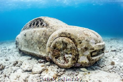 Used car for sale... minor water damage! by Nick Polanszky