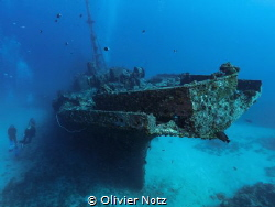 Wreck of Stella Maru off Trou aux Biches, North West of M... by Olivier Notz