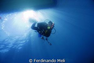 Into the deep by Ferdinando Meli