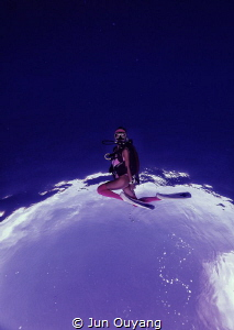 orbiting by Jun Ouyang