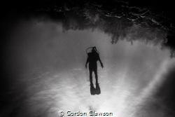 Leaving Hilma Hooker wreck in Bonaire, caught friend's so... by Gordon Clawson