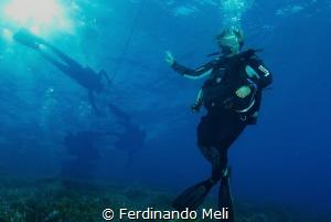 Double exposure by Ferdinando Meli
