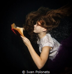 dreamy reader by Ivan Polonets