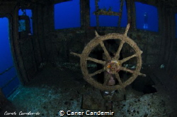 Pinar -1 Wreck in Bodrum by Caner Candemir