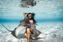 The queen of the sting ray. by Greg Fleurentin