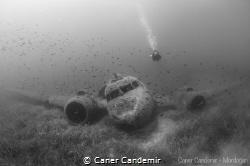 C47 Dakota Military Airplane Wreck by Caner Candemir