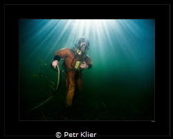 Clasik diver from year 1918. by Petr Klier
