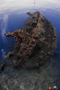Umbria wreck by Raffaele Livornese