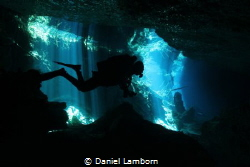 Chac Mool Cenote Diving. by Daniel Lamborn