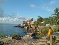this photo was taken in negril jamaica at the clifts.... by Karen Taylor