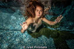Restless mermaid by Ivan Polonets