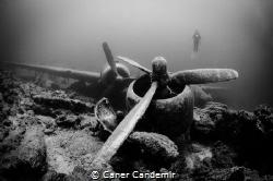C47 Dakota Military Plane Wreck by Caner Candemir