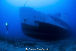 Passenger Shipwreck by Caner Candemir