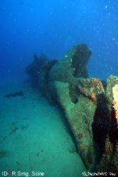 R. Smg. Scire, WW2 Italian Uboat lies at 34 meters in the... by Dan Ashkenasi