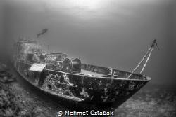SG 115 wreck- Bodrum / Turkey by Mehmet Öztabak