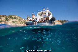 We had an amazing family day on a boat around Ibiza in th... by Vanessa Clementson