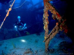 Exploring the Hydro Atlantic in 170 feet by Becky Kagan