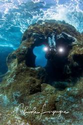 Diver in El Hierro . by Claude Lespagne