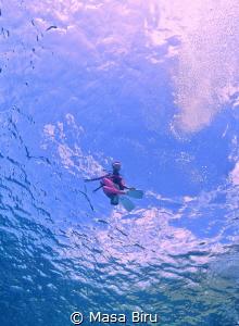 Floating by Masa Biru