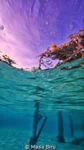 Water and sky by Masa Biru