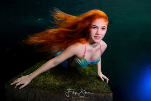 Mermaid Lexie, TODI, Belgium by Filip Staes