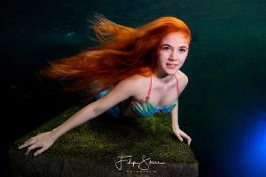Mermaid Lexie, TODI, Belgium by Filip Staes