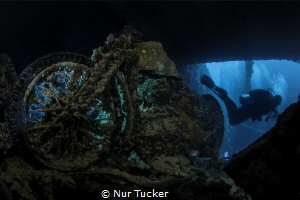 Inside the Thistlegorm Wreck in the Red Sea by Nur Tucker