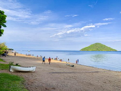 Lake Malawi! A couple of under photos to follow. by Andrew Macleod
