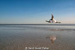 Salt Lake in turkey by Sevil Gurel Peker