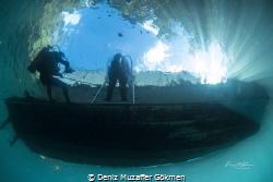 End of the dive by Deniz Muzaffer Gökmen