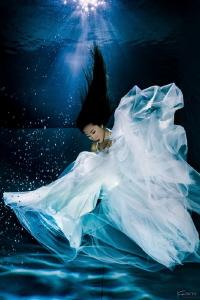 White fox fairy by Kelvin H.y. Tan