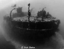 Lesleen M wreck, St Lucia by Nick Blake