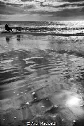 A day at the beach by Arun Madisetti